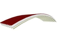 Pannello coibentato curvo a raggio variabile PANEL C-GG EPS 150 BIANCO -