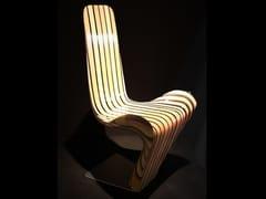 Sedia in legno masselloPANGEA | Sedia - CEDRIMARTINI DI CEDRI ELVIO RIENZO
