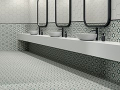 Pavimento/rivestimento in gres porcellanato effetto cementinePAPRICA P4 COLORE - CERAMICHE MARCA CORONA