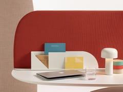 Pannello divisorio da scrivania fonoassorbente mobile in tessutoPARAVAN MOOD | Divisorio ufficio - ARPER