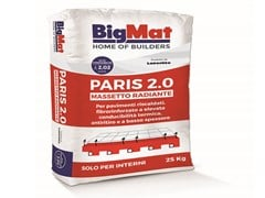 BigMat, PARIS 2.0 Massetto radiante fibrorinforzato antiritiro
