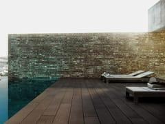 Pavimento per esterni in legno compositoPARKLEX BLOCK TEK - PARKLEX