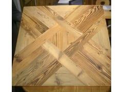 Pavimento in legno intarsiatoPARQUET QUADROTTE - ANTICO TRENTINO DI LUCIO SEPPI
