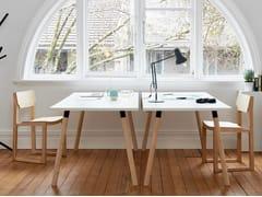 Scrivania rettangolare in legnoPARTRIDGE   Scrivania - DESIGNBYTHEM