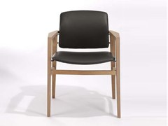 Sedia imbottita con braccioli PATIO | Sedia con braccioli - Patio