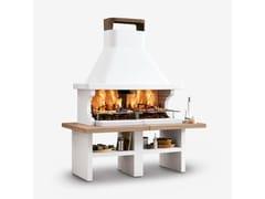 Barbecue a legna in cementoPATMOS - PALAZZETTI LELIO