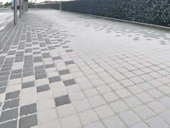 PIETRA SINTERIZZATA, PAVÈ 6 CM GRIGIO Pavimento per esterni / Pavimentazione stradale in basalto