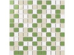 Mosaico in gres porcellanato per interni ed esterniPAVESE MIX MATT - LUCIDI - CE.SI. CERAMICA DI SIRONE