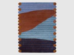 Tappeto fatto a mano rettangolare in lana HimalayanaPAYSAGE LE SOIR - HENRI MATISSE