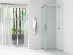 Box doccia rettangolare su misura in vetroPBF-GYRO - GH ITALY