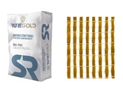 RUREGOLD, PBO-MESH 105 FRCM in fibra di PBO 105 g/m2 e matrice inorganica