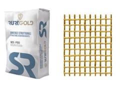 FRCM in fibra di PBO 22+22 g/m2 e matrice inorganicaPBO-MESH 22/22 - RUREGOLD