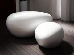 Elemento decorativo in vetroresinaPEBBLE - FUORILUOGO DESIGN