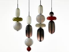 Lampada a sospensione in cristalloPEBBLES | Lampada a sospensione - BOHEMIA MACHINE