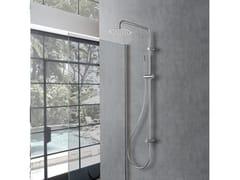 Colonna doccia a parete con doccettaPECHINO - WEISS-STERN