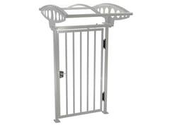 Cancello a battente pedonale in acciaioPEDGATE - GUNNEBO