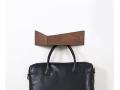 Appendiabiti / mensola in legno PELICAN SMALL I Wooden shelf with hooks -