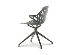 Sedia girevole su trespolo in alluminio pressofuso PELOTA SPIDER - Pelota