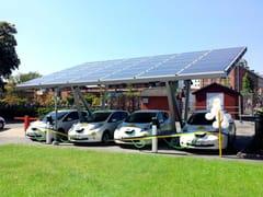 Giulio Barbieri, PENSILSOLE Pensilina con pannelli fotovoltaici per posto auto