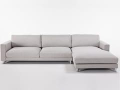 Divano in tessuto a 3 posti con chaise longuePENT | Divano con chaise longue - GRADO DESIGN FURNITURES
