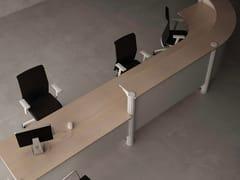 Banco reception per ufficio modularePERFILINE | Banco reception per ufficio - METALÚRGICA DO LEVIRA