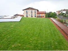 Giardino pensile intensivo leggero con tappeti erbosiPERLIROOF intensivo con tappeto erboso - PERLITE ITALIANA