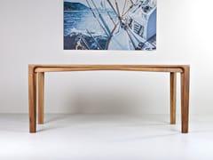 Tavolo rettangolare in legno masselloPERO - HOOKL UND STOOL