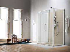 ARBLU, PERSEO | Box doccia con porta a battente  Box doccia con porta a battente