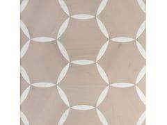 Pavimento/rivestimento in marmo di Carrara e roverePETALI - PALAZZO MORELLI