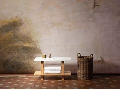 Sgabello per bagno in marmoPETIT BANC | Sgabello per bagno in marmo - OBJETS ARCHITECTURAUX