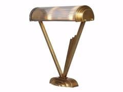 Lampada da tavolo a luce diretta fatta a mano in ottone PETITOT V | Lampada da tavolo - Petitot
