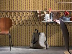 Carta da parati a striscia unica lavabile PHILIPPE MODEL - YELLOW STRIPES | Carta da parati a striscia unica - Philippe Model