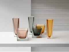 Vaso in vetro soffiatoPHILOSOPHY - GIORGETTI