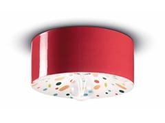 Lampada da parete / lampada da soffitto in ceramicaPI C1796 - FERROLUCE