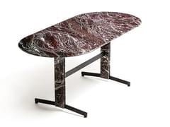 Tavolo ovale in marmoPIANA MARBLE L - ARRMET