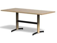 Tavolo rettangolare in legno impiallacciatoPIANA WOOD L - ARRMET