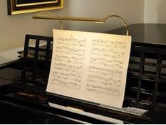 Lampada  in ottone per pianofortePIANO - BETEC LICHT