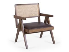 Poltrona in legno con braccioliPIERRE J   Poltrona - SANDALYECI