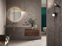 Pavimento in gres porcellanato effetto pietra per interni ed esterniPIETRA D'ISEO – CEPPO' - COTTO D'ESTE