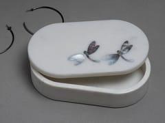 Contenitore in marmoPIETRA DURA FLUTTER | Contenitore - ORVI DESIGN STUDIO