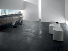 La Fabbrica, PIETRA LAVICA FULIGO Pavimento/rivestimento in gres porcellanato effetto pietra