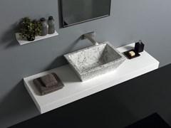 Lavabo in ceramica PIETRA | Lavabo - HORGANICA © BY FIRMIANA