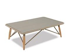 Tavolino da giardino rettangolare in cordaPIMLICO   Tavolino rettangolare - INDIAN OCEAN