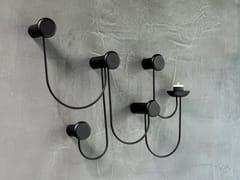 Appendiabiti da parete in acciaio verniciato a polverePINA - SCHÖNBUCH