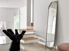 Specchio rettangolare in vetro con cornicePINCH   Specchio da terra - FIAM ITALIA