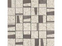 Mosaico in gres porcellanatoPINCH | Mosaico Quad Beige - MARAZZI GROUP