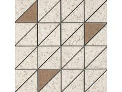Mosaico in gres porcellanatoPINCH   Mosaico Triangolo Beige Lux - MARAZZI GROUP