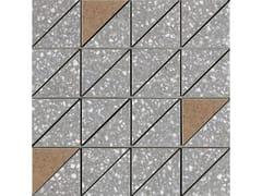 Mosaico in gres porcellanatoPINCH   Mosaico Triangolo Dark Grey Lux - MARAZZI GROUP