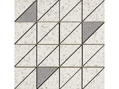 Mosaico in gres porcellanatoPINCH | Mosaico Triangolo White Lux - MARAZZI GROUP
