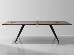 Tavolo da ping pong rettangolare in rovere e ghisaTavolo da ping pong - DISTRICT EIGHT DESIGN CO.